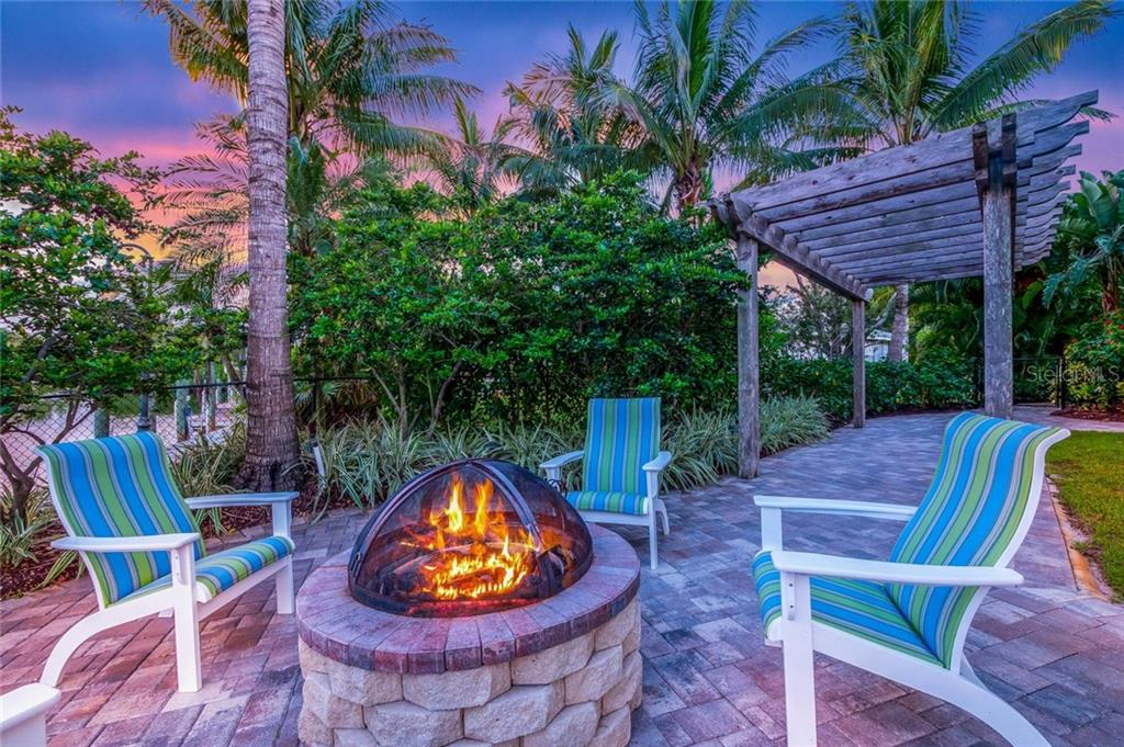 Fire pit - Single Family Home for sale at 260 Capstan Dr, Cape Haze, FL 33946 - MLS Number is D5919159
