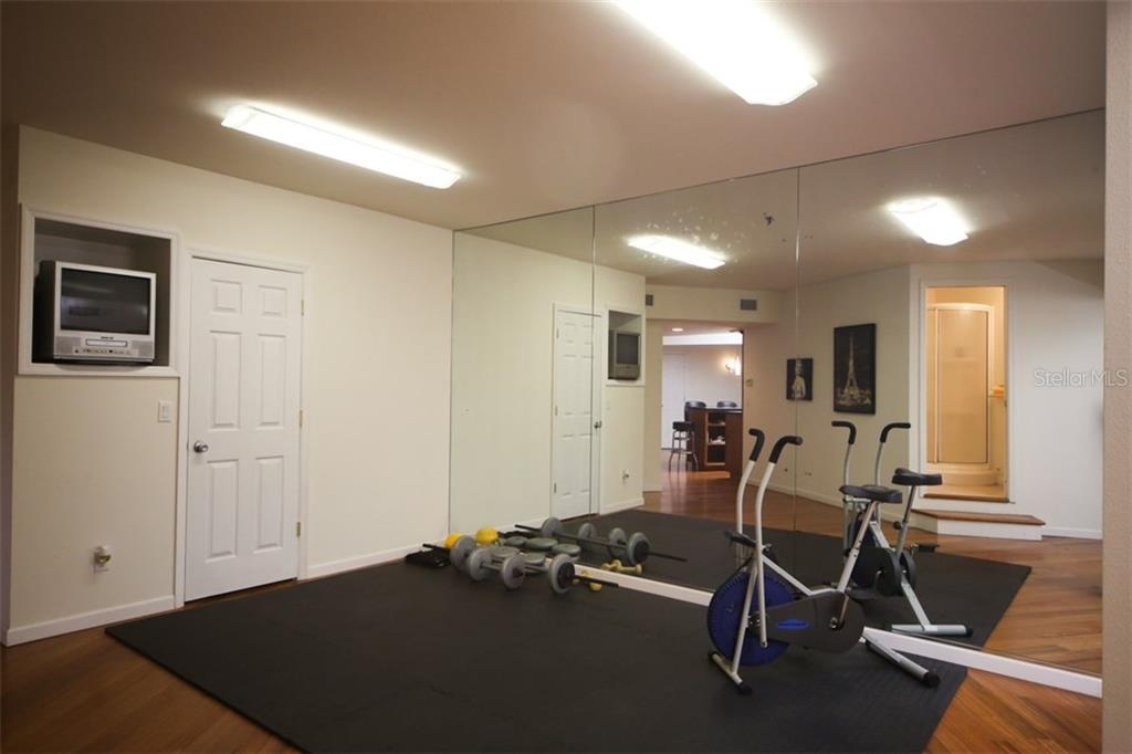 Exercise Room - Single Family Home for sale at 1850 Bayshore Dr, Englewood, FL 34223 - MLS Number is D5919513