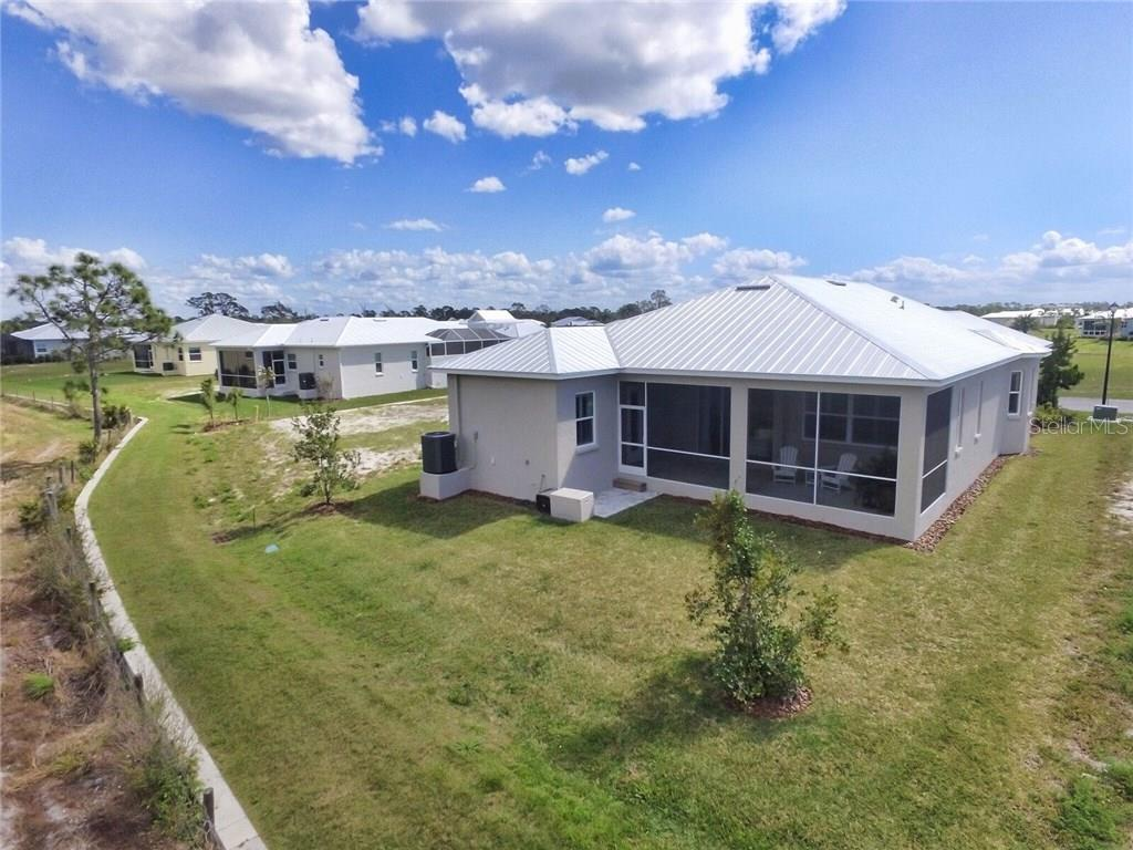 Back Aerial - Single Family Home for sale at 8944 Scallop Way, Placida, FL 33946 - MLS Number is D5923173