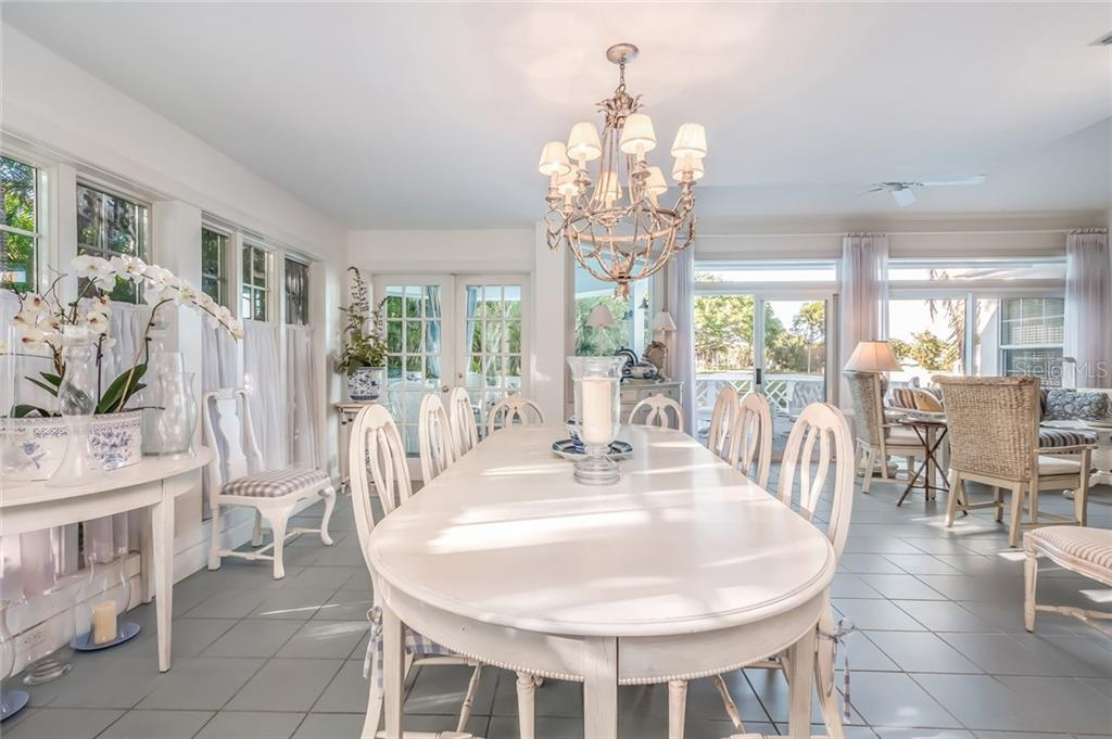 Dining area - Single Family Home for sale at 186 Carrick Bend Ln, Boca Grande, FL 33921 - MLS Number is D5923688