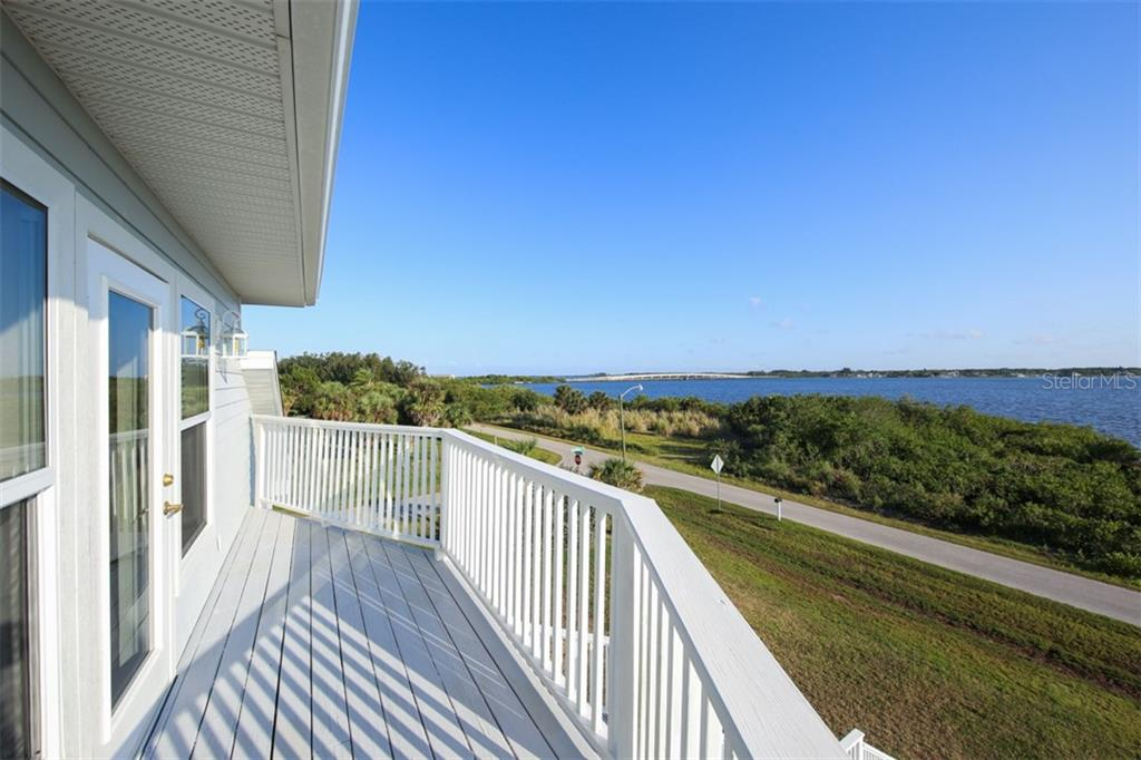 Veranda from Master Bedroom - Single Family Home for sale at 14241 River Beach Dr, Port Charlotte, FL 33953 - MLS Number is D5924121