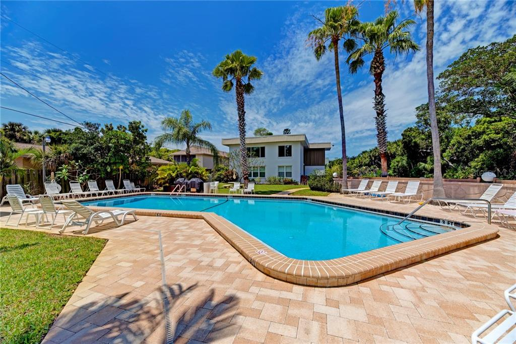 Community Pool - Condo for sale at 5055 N Beach Rd #212, Englewood, FL 34223 - MLS Number is D6100243