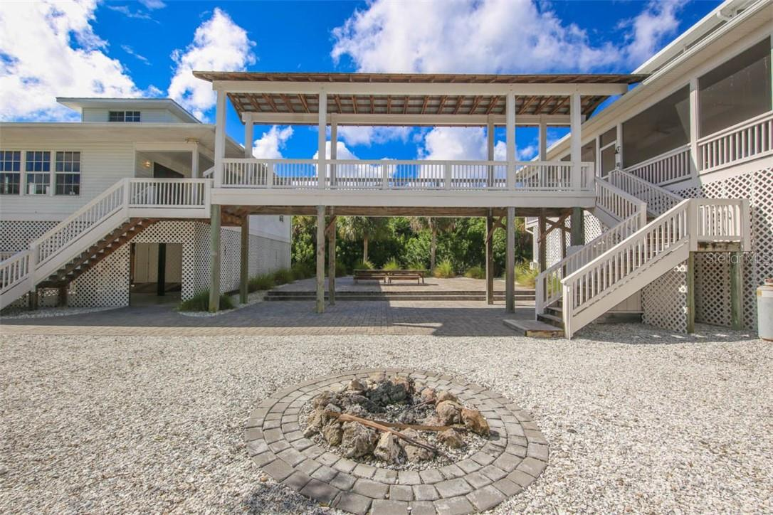 Firepit - Single Family Home for sale at 6100 Palm Point Way, Placida, FL 33946 - MLS Number is D6102528