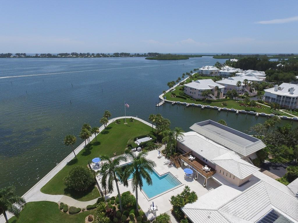 Main Clubhouse & Pool overlooking Intracoastal - Condo for sale at 11000 Placida Rd #2103, Placida, FL 33946 - MLS Number is D6102674