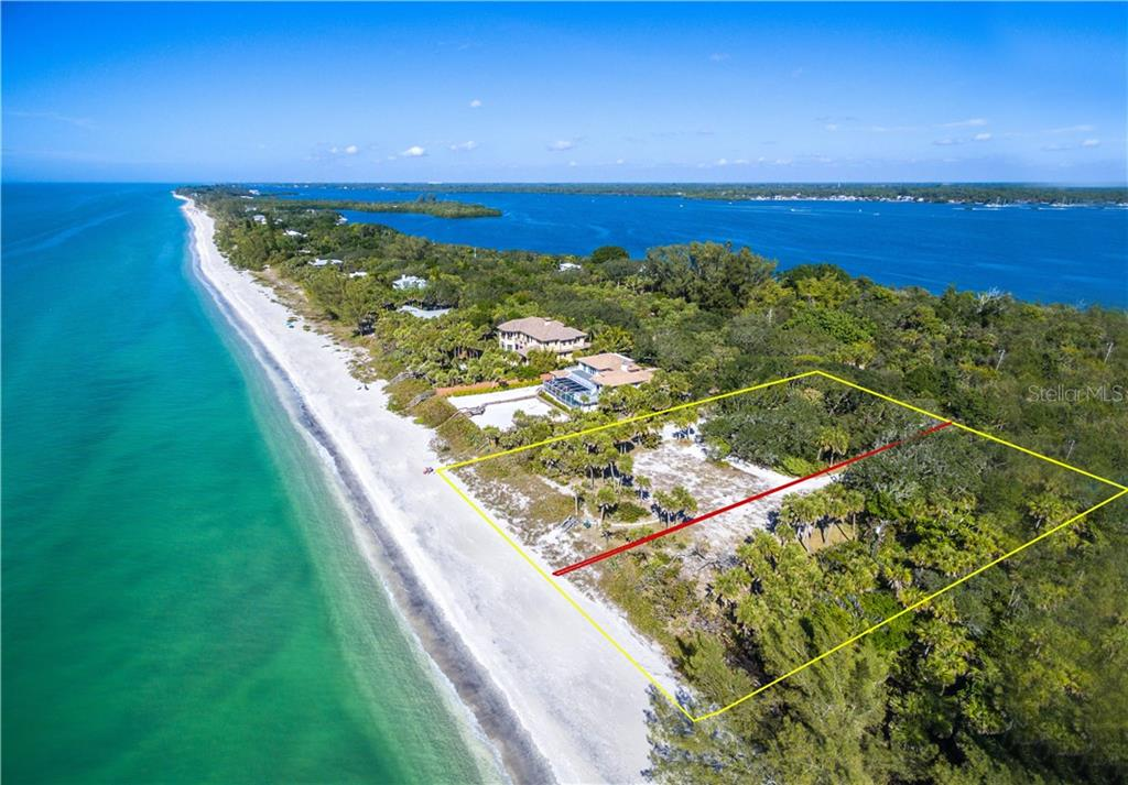 Walk for miles finding beautiful shells and shark teeth. - Vacant Land for sale at 6360 Manasota Key Rd #b, Englewood, FL 34223 - MLS Number is D6103470