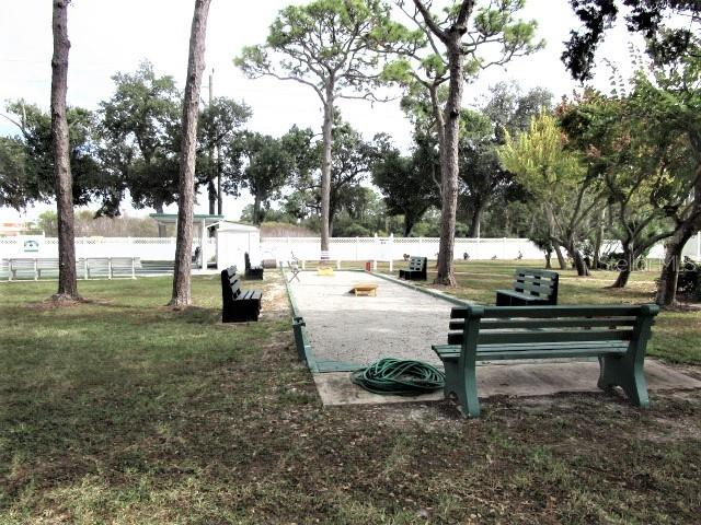Meet friends down at the shuffleboard courts for a fun morning activity. - Manufactured Home for sale at 1800 Englewood Rd #95, Englewood, FL 34223 - MLS Number is D6103776
