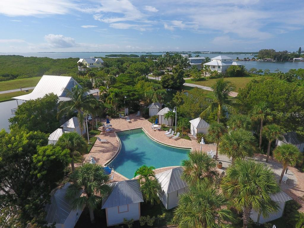 Pool, clubhouse & outdoor firepit - Vacant Land for sale at 13220 Anglers Way, Placida, FL 33946 - MLS Number is D6104123