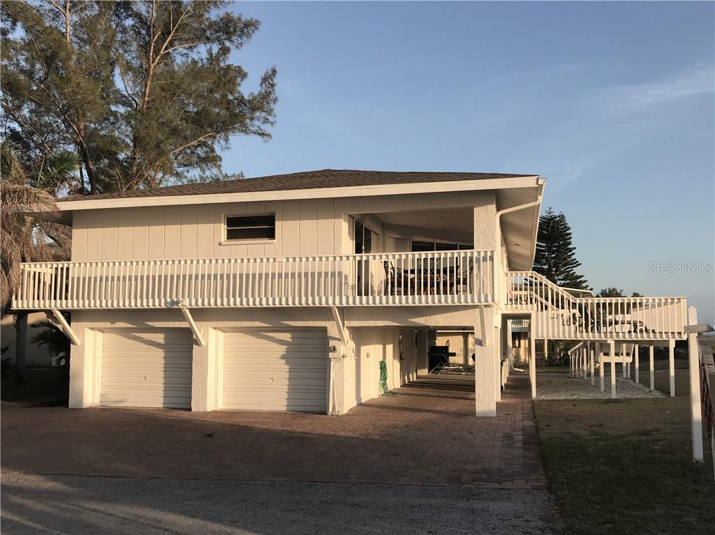 North view - Single Family Home for sale at 55 Meredith Dr, Englewood, FL 34223 - MLS Number is D6105559