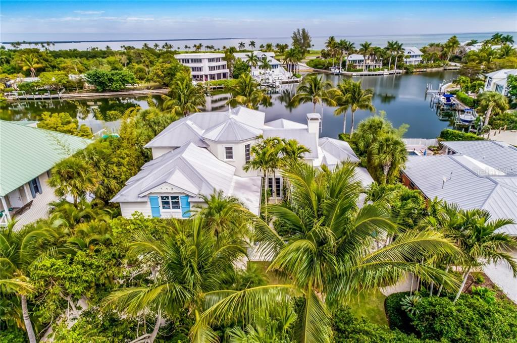 Aerial - Single Family Home for sale at 300 Lee Ave, Boca Grande, FL 33921 - MLS Number is D6106440