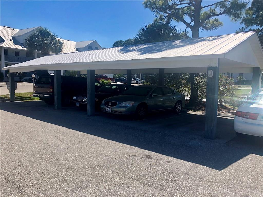 Covered parking space - Condo for sale at 6800 Placida Rd #271, Englewood, FL 34224 - MLS Number is D6106459
