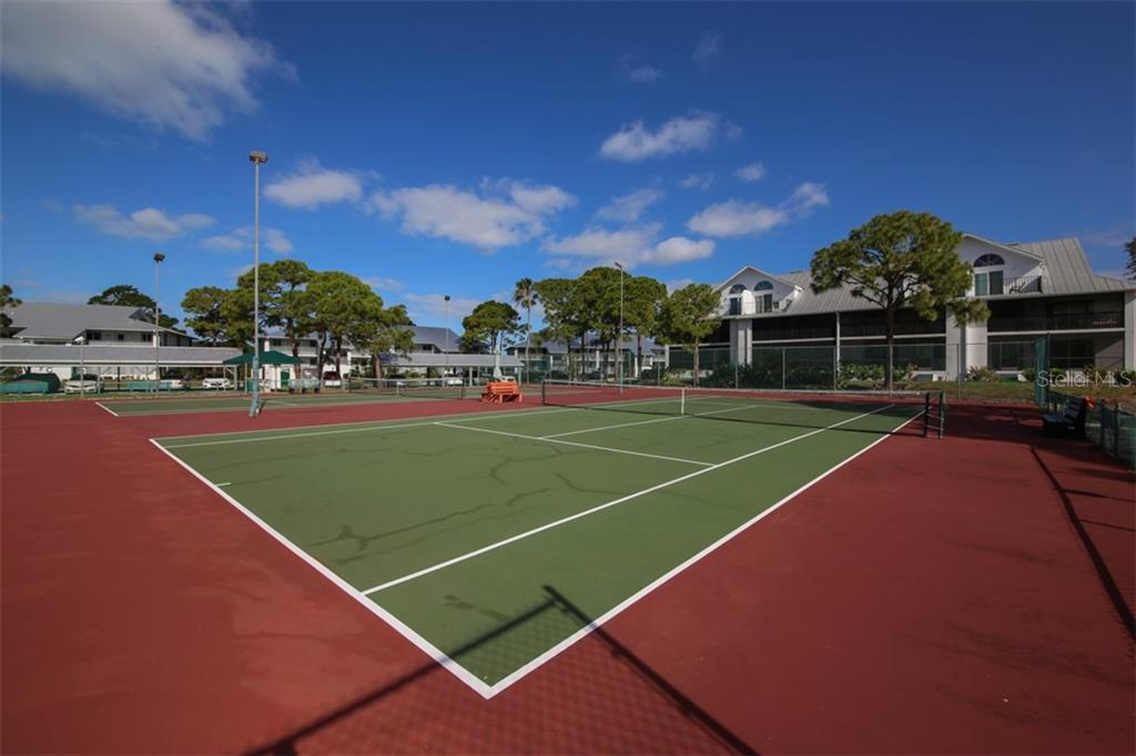 Tennis courts. - Condo for sale at 6800 Placida Rd #271, Englewood, FL 34224 - MLS Number is D6106459