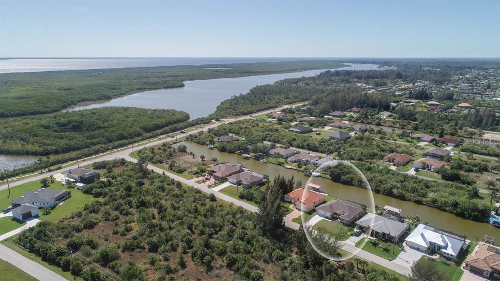 waterfront location with concrete seawall, Section 93 of South Gulf Cove - Single Family Home for sale at 15586 Seafoam Cir, Port Charlotte, FL 33981 - MLS Number is D6106527