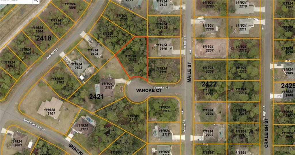 New Attachment - Vacant Land for sale at Vanoke Ct, North Port, FL 34288 - MLS Number is D6106988