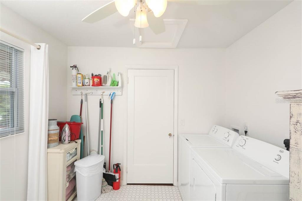 Inside Laundry Room - Single Family Home for sale at 1626 New Point Comfort Rd, Englewood, FL 34223 - MLS Number is D6108454