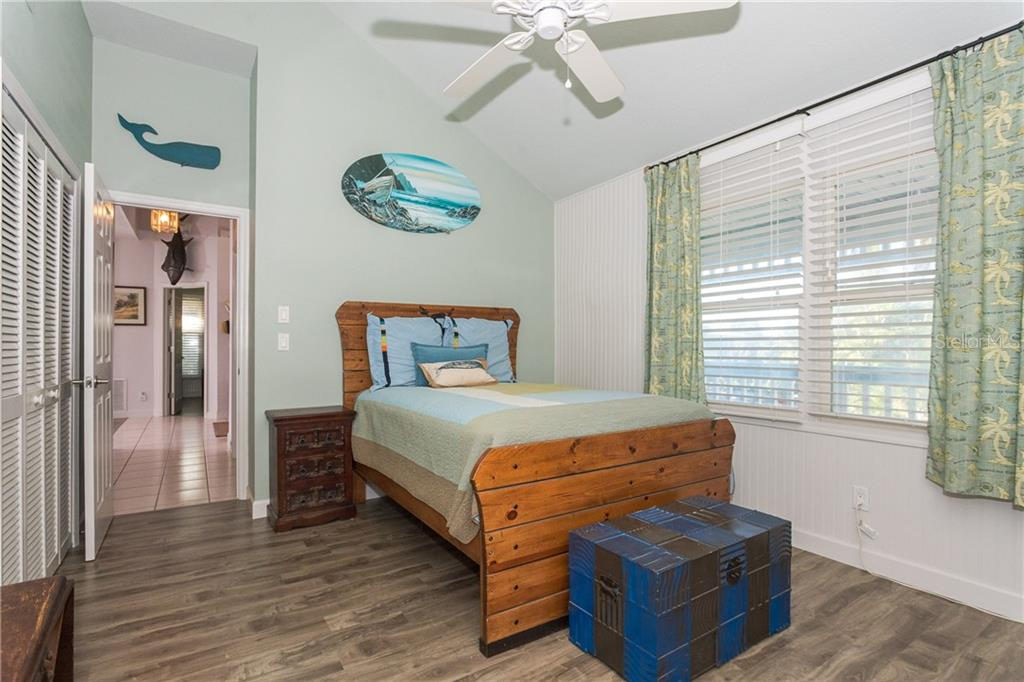 Guest Bedroom 3. - Single Family Home for sale at 540 N Gulf Blvd, Placida, FL 33946 - MLS Number is D6110801