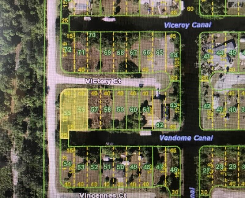 Lot Located at the End of Vendome Canal - Vacant Land for sale at 26361 View Dr, Punta Gorda, FL 33983 - MLS Number is D6110988