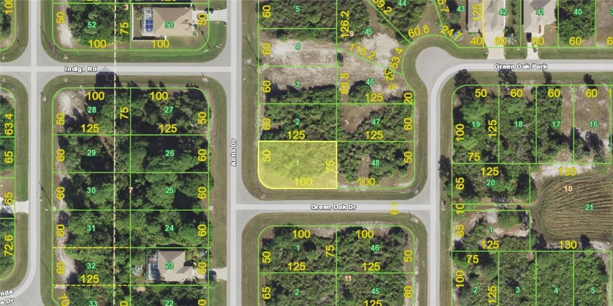 Vacant Land for sale at 100 Green Oak Dr, Rotonda West, FL 33947 - MLS Number is D6112063
