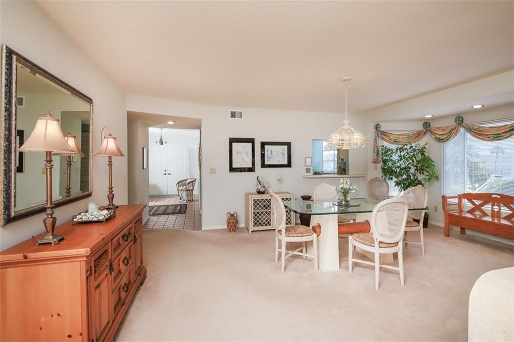 Dining Area - Condo for sale at 11000 Placida Rd #2501, Placida, FL 33946 - MLS Number is D6112229