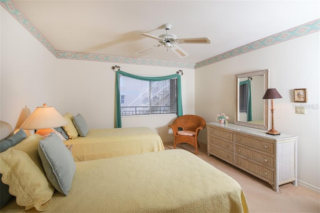 Bedroom #2 - Condo for sale at 11000 Placida Rd #2501, Placida, FL 33946 - MLS Number is D6112229