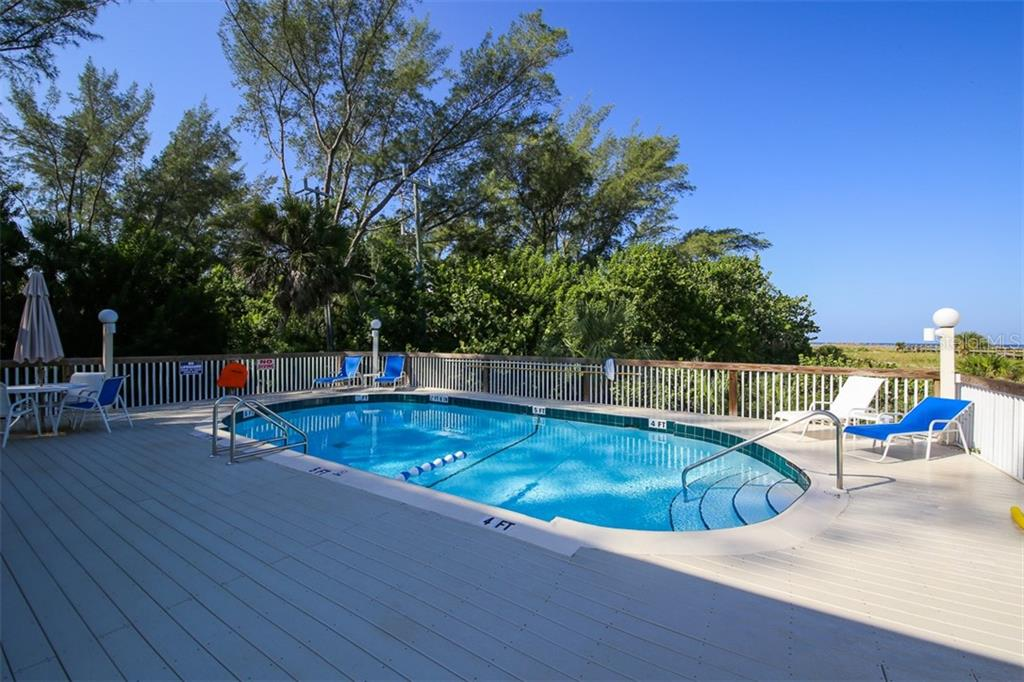 After a walk or swim along the beach, take a dip in the pool on Little Gasparilla Island - Condo for sale at 11000 Placida Rd #2501, Placida, FL 33946 - MLS Number is D6112229