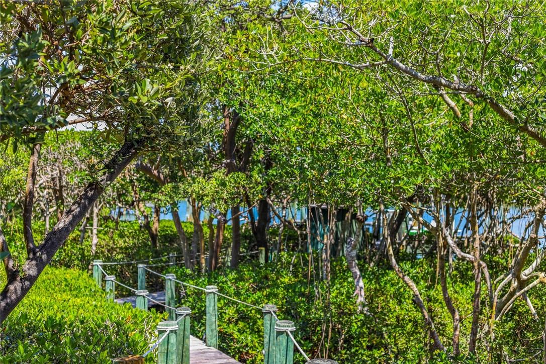 Walkway to dock - Single Family Home for sale at 4090 Loomis Ave, Boca Grande, FL 33921 - MLS Number is D6112331