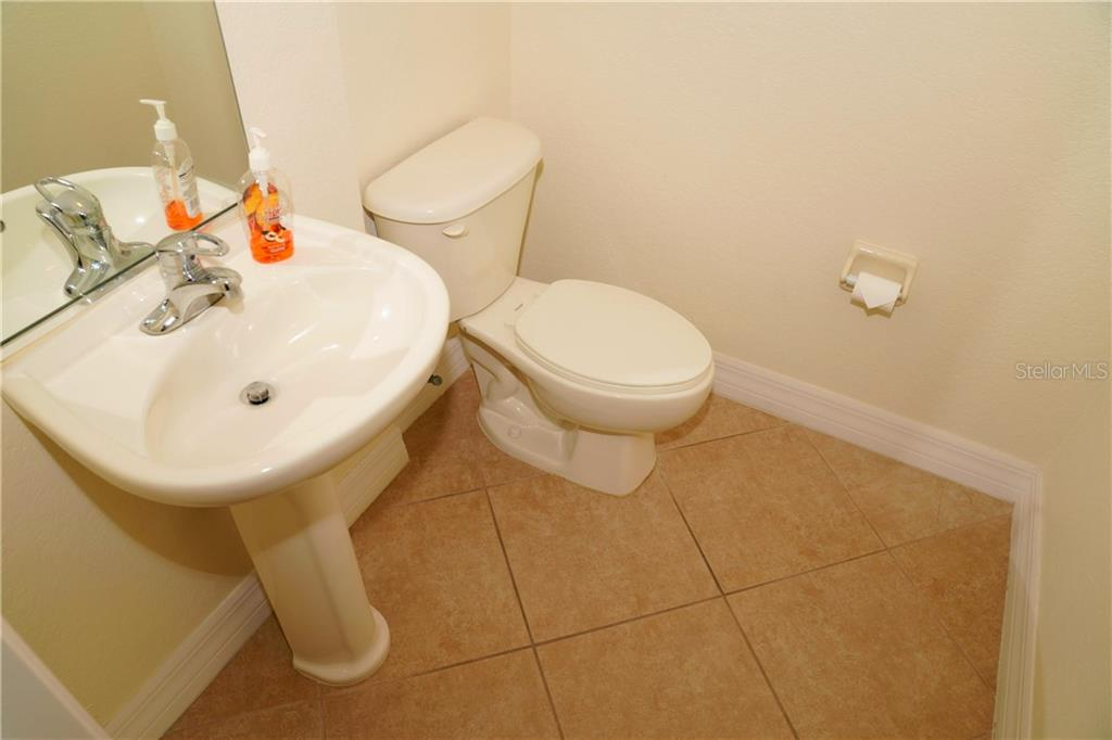 1/2 Bath for Guests.  Centrally located. - Condo for sale at 2245 N Beach Rd #304, Englewood, FL 34223 - MLS Number is D6112346