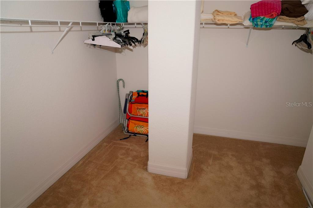 Walk-in closet - Condo for sale at 2245 N Beach Rd #304, Englewood, FL 34223 - MLS Number is D6112346