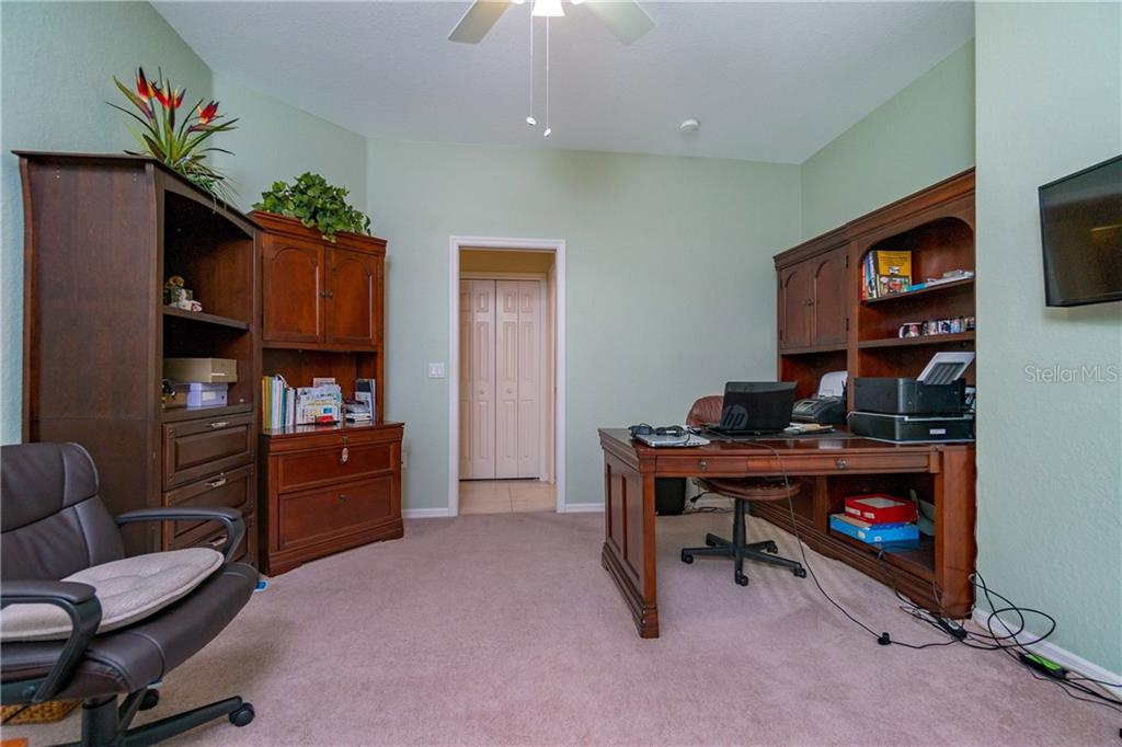 Another view of bedroom #4/Office. - Single Family Home for sale at 439 Boundary Blvd, Rotonda West, FL 33947 - MLS Number is D6114162