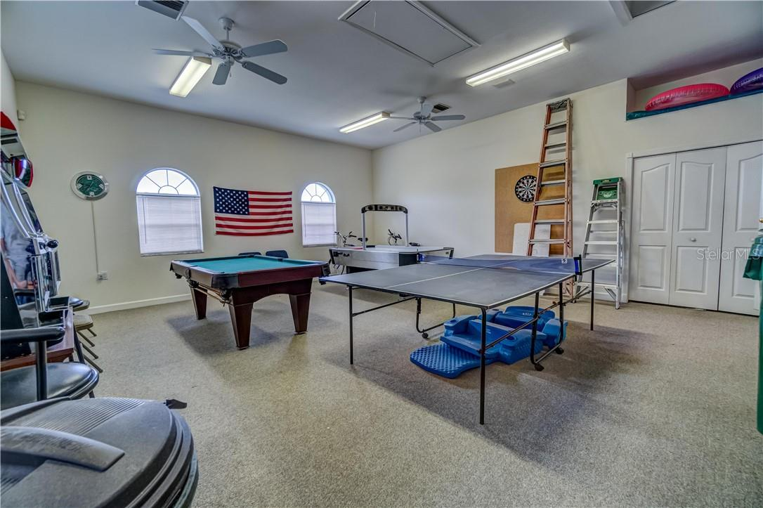 Speaking of entertaining... This is what would have been a garage, the owner has always used it as a game room but it could be turned into a garage. - Single Family Home for sale at 12307 S Access Rd, Port Charlotte, FL 33981 - MLS Number is D6117140