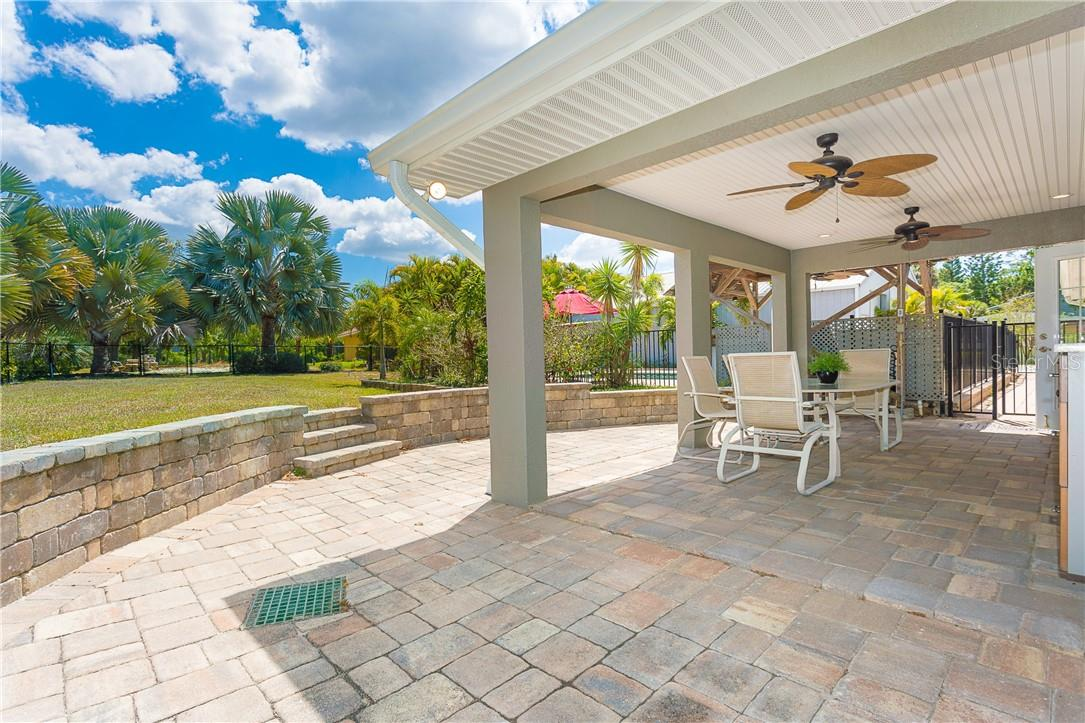 Fantastic views of the oversized lushly landscaped yard.  If you love your privacy you will love this home - Single Family Home for sale at 1661 New Point Comfort Rd, Englewood, FL 34223 - MLS Number is D6117712