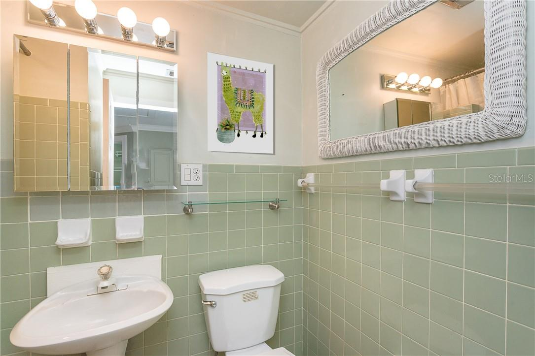 2nd Bathroom with Shower for your Guest Suite - Single Family Home for sale at 1661 New Point Comfort Rd, Englewood, FL 34223 - MLS Number is D6117712