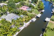 Aerial view - Single Family Home for sale at 260 Capstan Dr, Cape Haze, FL 33946 - MLS Number is D5919159