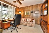 Private office off the master bedroom - Single Family Home for sale at 9 Pine Ridge Way, Englewood, FL 34223 - MLS Number is D5921839