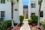 Front entrance to B612 - Condo for sale at 2955 N Beach Rd #b612, Englewood, FL 34223 - MLS Number is D6101147