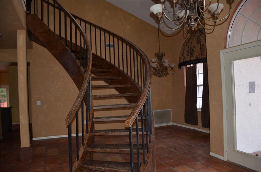 Custom stairway - Single Family Home for sale at Address Withheld, Bradenton, FL 34202 - MLS Number is T3132327