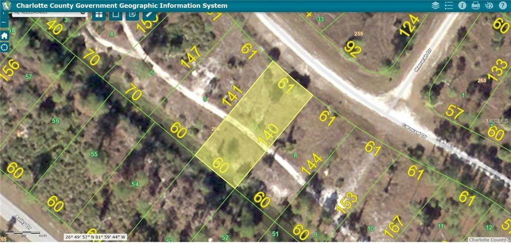Vacant Land for sale at 13545 Carousel Dr, Punta Gorda, FL 33955 - MLS Number is W7618585