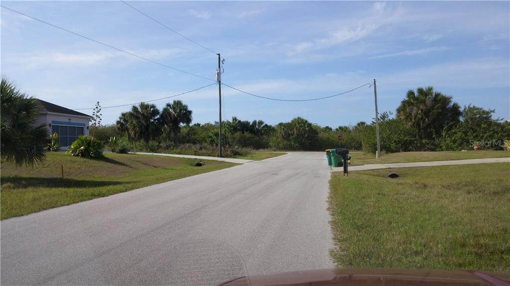 VIEW TO THE SOUTH - Vacant Land for sale at 156 Flanders St, Port Charlotte, FL 33954 - MLS Number is C7224328