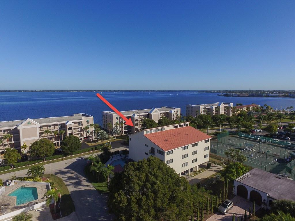 Top floor penthouse unit with magnificent views - Condo for sale at 1765 Jamaica Way #302, Punta Gorda, FL 33950 - MLS Number is C7234643