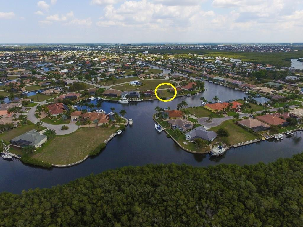 Sailboat access to Charlotte Harbor, the Gulf of Mexico & beyond. - Vacant Land for sale at 4027 Turtle Dove Cir, Punta Gorda, FL 33950 - MLS Number is C7237554