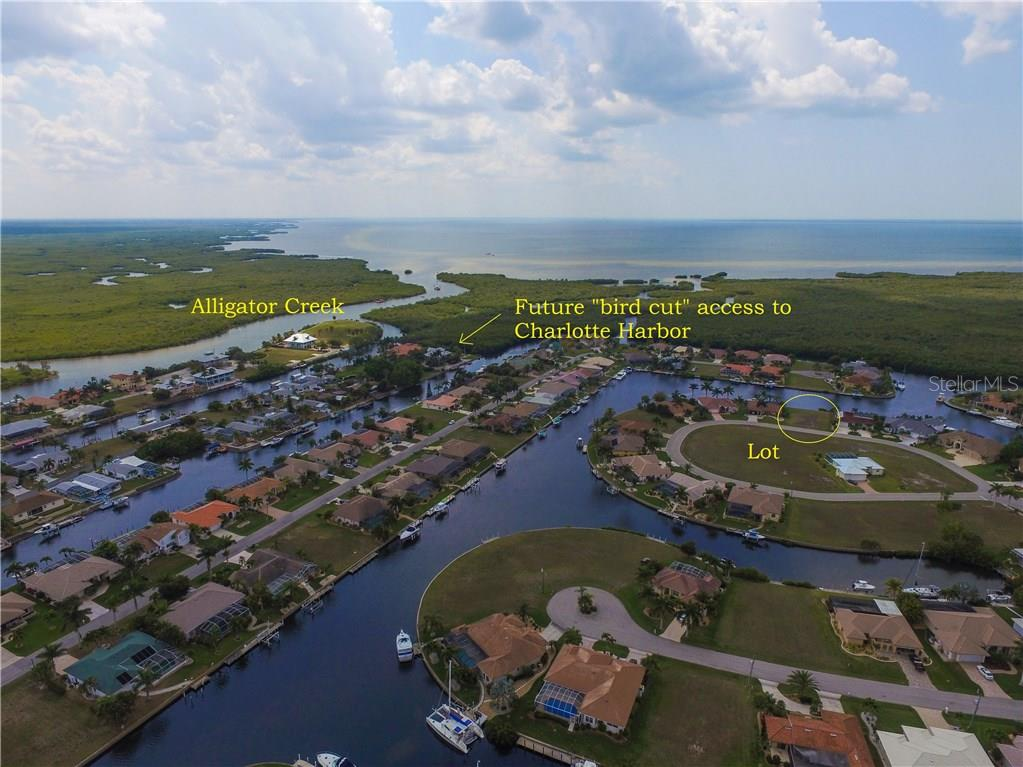 Picturesque view to the preserve - Vacant Land for sale at 4027 Turtle Dove Cir, Punta Gorda, FL 33950 - MLS Number is C7237554