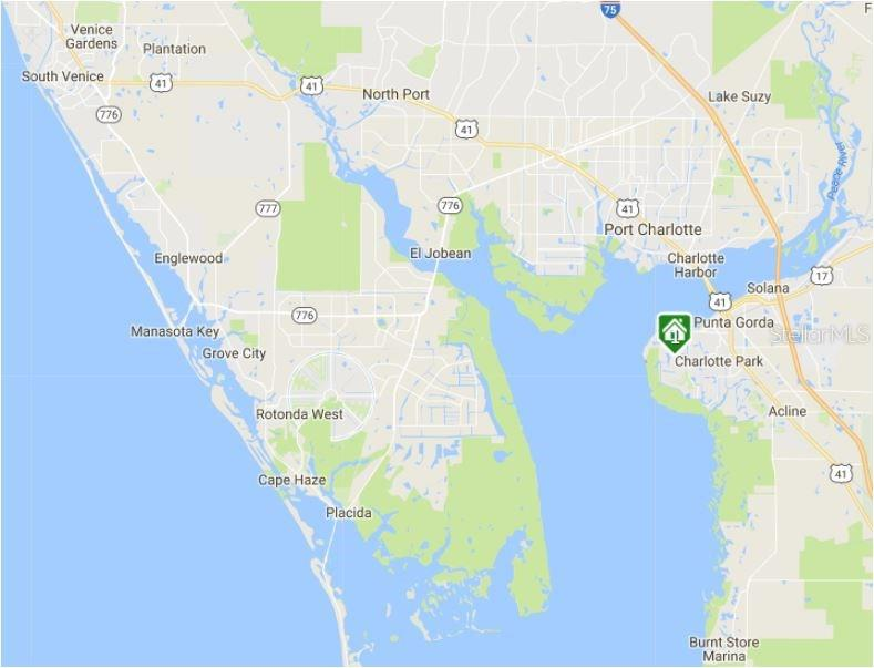 Double dock and 10,000-lb boat lift - Single Family Home for sale at 890 Coronado Dr, Punta Gorda, FL 33950 - MLS Number is C7243197