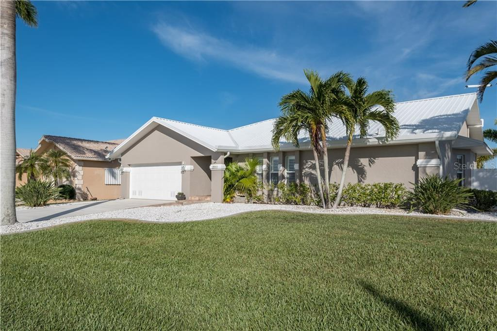 Your Florida home in paradise awaits. Easy to care for landscaping and a metal roof. - Single Family Home for sale at 2510 Rio Largo Ct, Punta Gorda, FL 33950 - MLS Number is C7246934