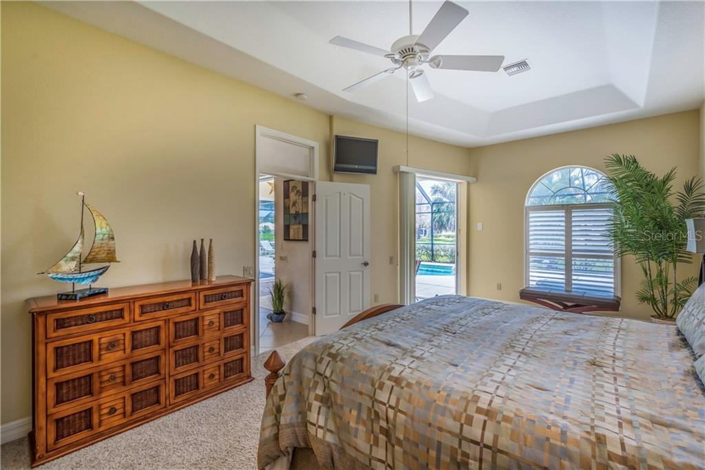 Love to wake up here.  Pocked sliders to the pool. - Single Family Home for sale at 931 Linkside Way, Punta Gorda, FL 33955 - MLS Number is C7400849