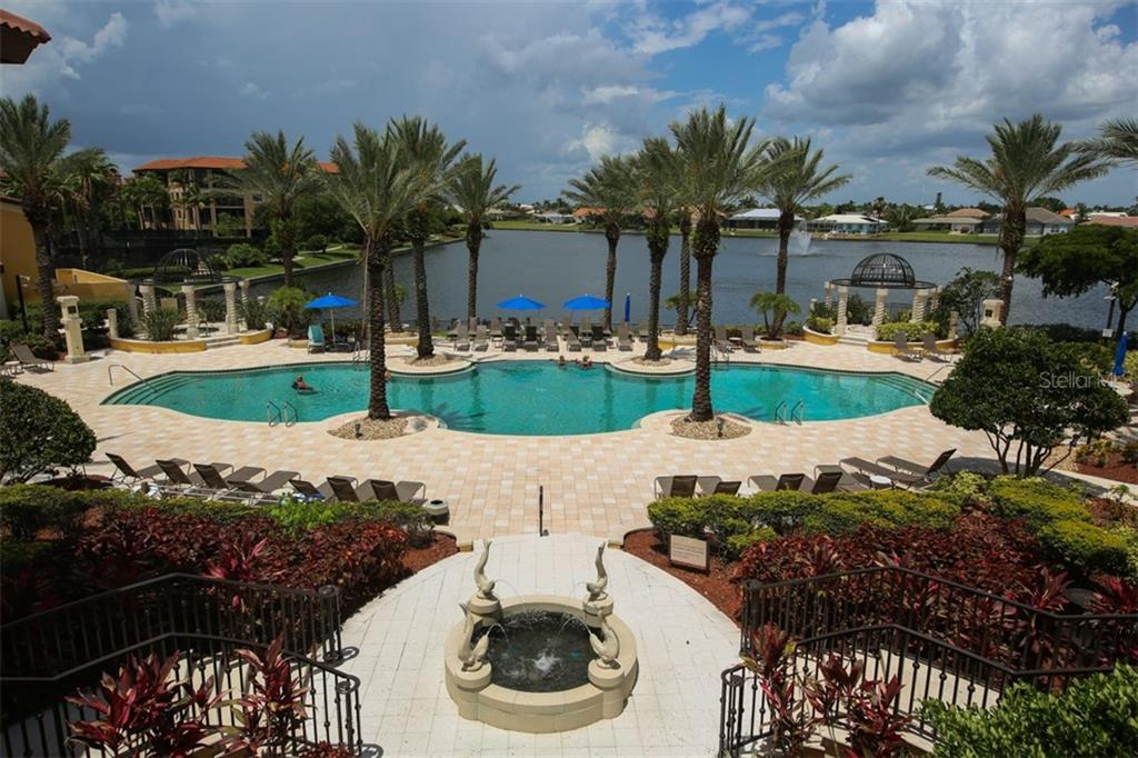 Infinity edge heated pool - Condo for sale at 95 Vivante Blvd #303, Punta Gorda, FL 33950 - MLS Number is C7402746