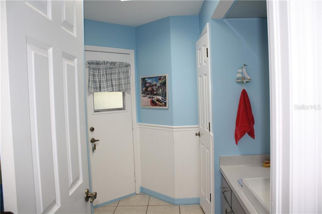 2nd bathroom-door leads to pool area. - Single Family Home for sale at 25378 Rupert Rd, Punta Gorda, FL 33983 - MLS Number is C7403652