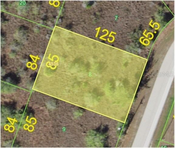 Aerial View - Vacant Land for sale at 15605 Avery Rd, Port Charlotte, FL 33981 - MLS Number is C7406067