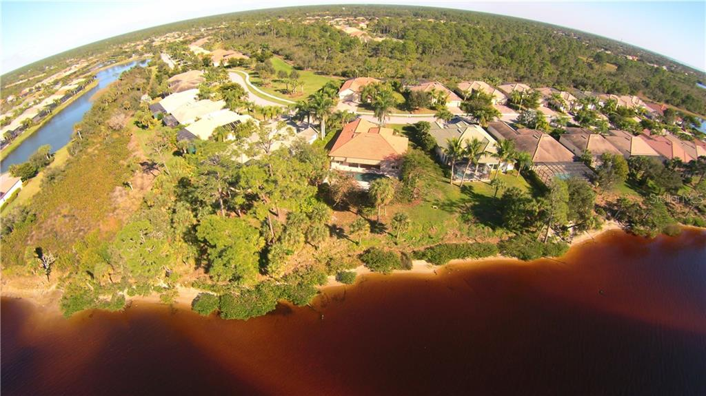 Aerial of River Frontage - Single Family Home for sale at 2823 Mill Creek Rd, Port Charlotte, FL 33953 - MLS Number is C7409892