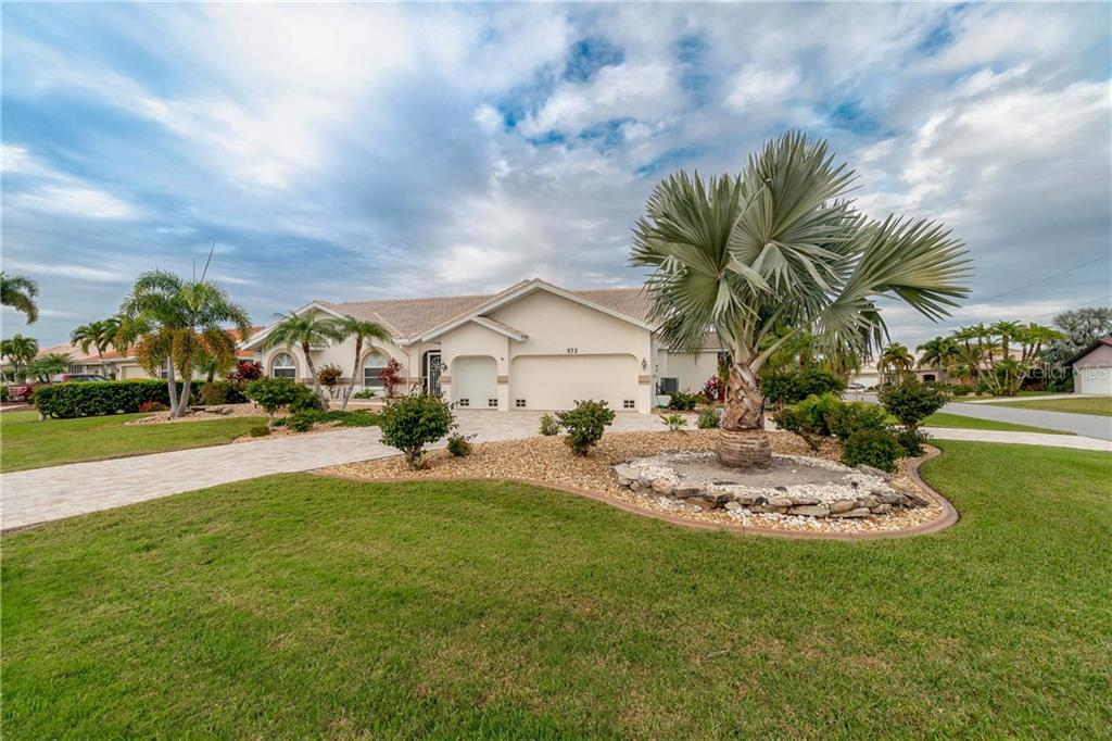 Survey and elevation certificate - Single Family Home for sale at 572 Toulouse Dr, Punta Gorda, FL 33950 - MLS Number is C7411184