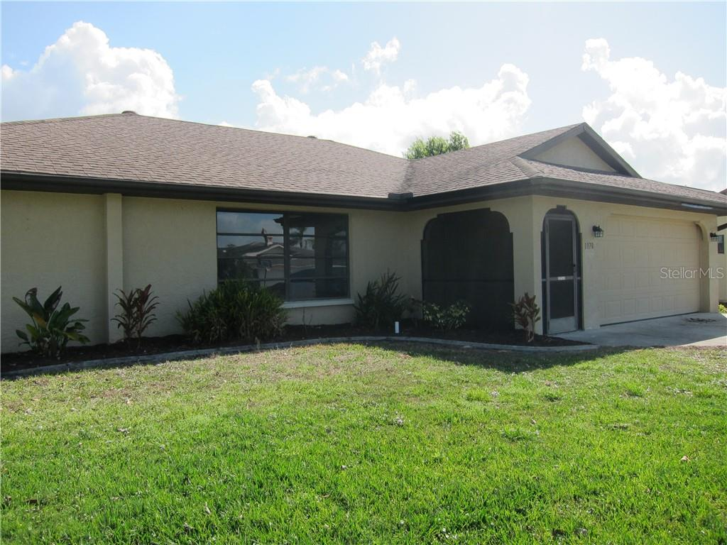 Nice, easy landscaping - Single Family Home for sale at 1170 Richter St, Port Charlotte, FL 33952 - MLS Number is C7411803