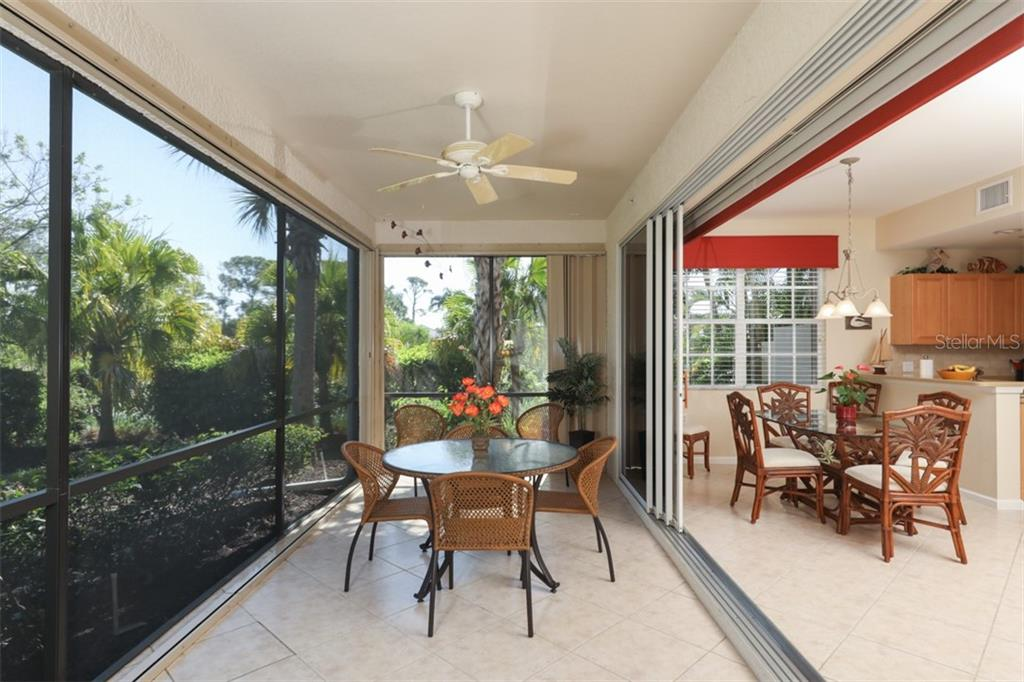 Spacious outdoor lanai with gorgeous private views of the preserve.  End unit unlike any others! - Condo for sale at 4643 Club Dr #102, Port Charlotte, FL 33953 - MLS Number is C7413207